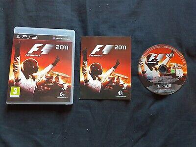 FORMULA 1 2011 F1 Sony Playstation 3 Game PS3 segunda mano  Embacar hacia Argentina