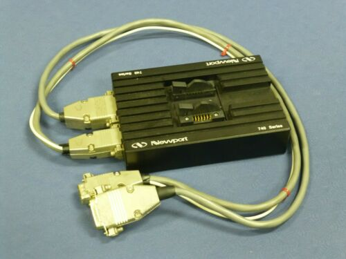 Newport 744 Telecom Laser Diode Mount with Cables, 740 Series