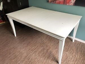 Kitchen Table - Painted White