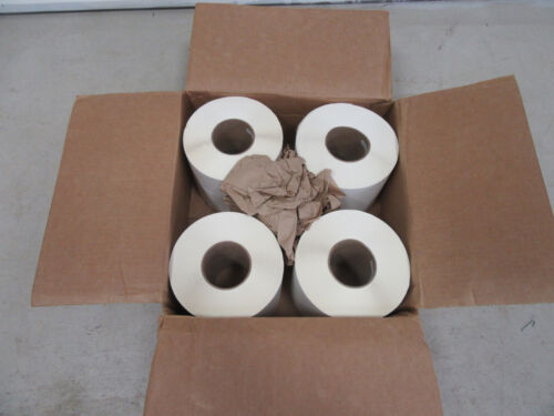 "6400 Labels / Box 4 Rolls 6"" x 4"" Thermal Transfer for Printer Shipping USA! 6x4"