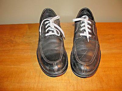 Johnston & Murphy Oxfords Mens 11.5-M Black Business Casual Shoes