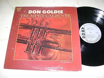 DON GOLDIE Trumpet Caliénte *US ARGO 1st PRESS DEEPGROOVE 60s LP*