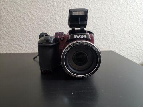 Nikon COOLPIX B500 16.0MP Digital Camera - Red  - $109.97