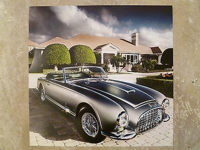 1953 Ferrari 342 Print, Picture, Poster, RARE!! Awesome L@@K