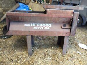 Herborg 103 BEET CHOPPER / ROOT CUTTER