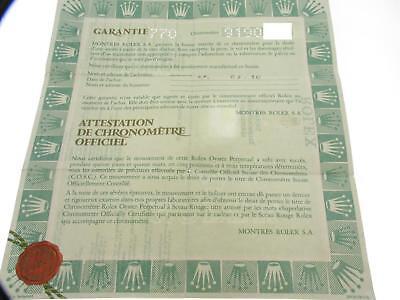 Usato, Rolex certificate serial 9190xxx genuine Certificato Garanzia paper usato  Verona