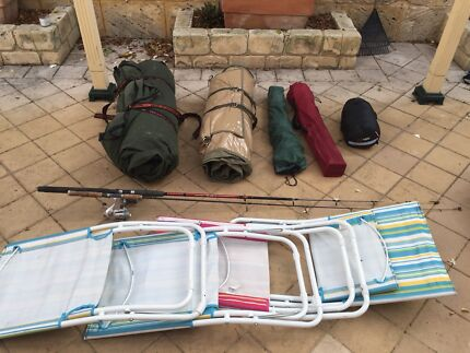 Camping Gear - Swags, Rods, Chairs