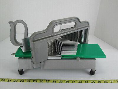 Heavy Duty Commercial Restaurant Food Vegetable Tomato Slicer Metal 13 Blade