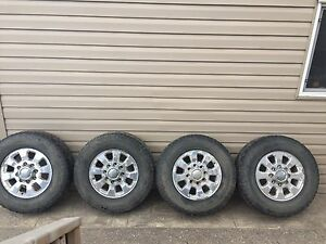 "18"" gmc/chevy rims with dynapro ATM"