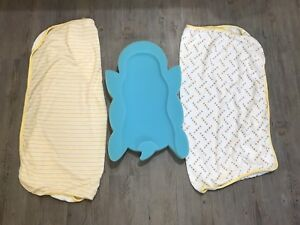 Baby BATH MAT and 2 Baby towels