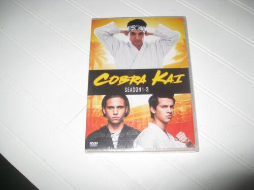 BRAND NEW SEALED COBRA KAI SEASONS 1-3 123 (DVD) FREE SHIPPING
