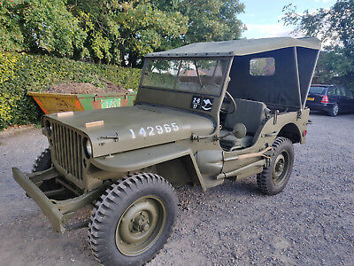 FORD GPW WW2 jeep like Willys MB 1944