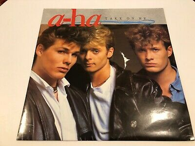 "a-ha - Take On Me (Extended Version (1985) 12"" Single Vinyl"