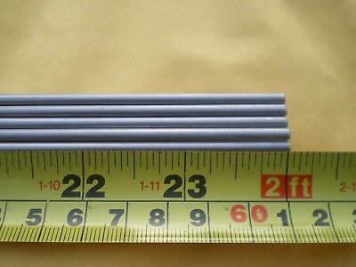 10 Pcs. Stainless Steel Round Rod 302 18 .125 3.24mm. X 24 Long