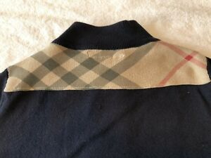 Burberry Toddler Zip Up Sweater, size 3Y 98cm
