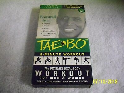 Tae Bo - 8 Minute Workout (VHS)