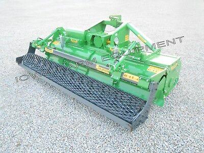 Rotary Tiller Wmesh Roller Heavy Duty Valentini U3000 10-2 3-pt Pto 170hp