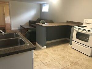 Basement apartment for rent - September 1st