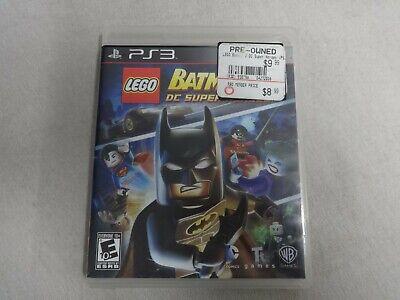 Lego Batman 2 DC Super Heroes Sony Playstation 3 PS3 Game Disc & Box