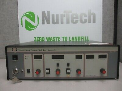 New Focus 6200 External-cavity Tunable Diode Laser Controller W Keys
