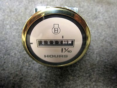 NEW FARIA GOLD SERIES MARINE BOAT HOUR METER GAUGE FREE SHIPPING