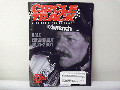 CIRCLE TRACK Magazine June 2001 Earnhardt Collectors Edition for sale  Howard