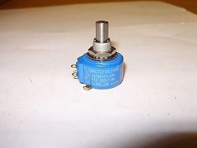 Bourns 3510s-71-104 Potentiometer 100k 3 Turns 3 New Old Stock