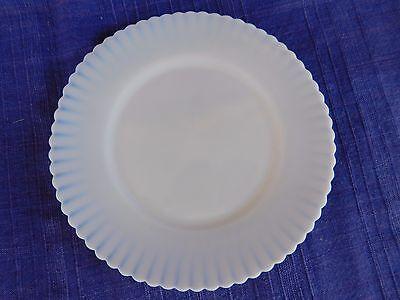Petalware MacBeth-Evans White (Plain) SALAD PLATE *have more Petalware*