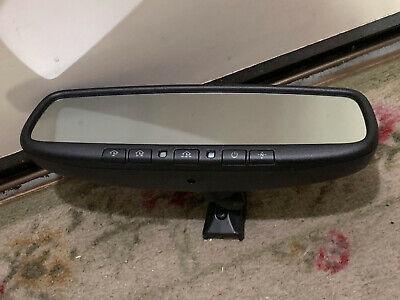 OEM 07-11 Toyota Tundra Auto Dim Rear Mirror BACKUP LCD CAMERA COMPASS HOMELINK
