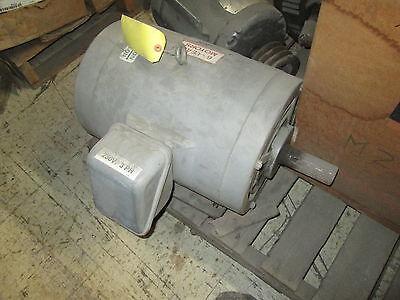 Ronk Farm Powr Ac Motor 15hp Fr256tz 1770rpm 240v 32fla Used