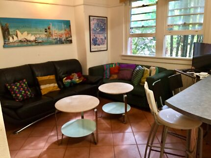 BONDI BEACH Couple or 2 friends wanted for room in furn'd 2 br ap