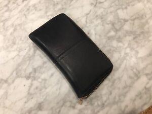Portefeuille de marque Danier noir