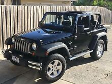 2011 Jeep Wrangler Convertible Newtown Geelong City Preview