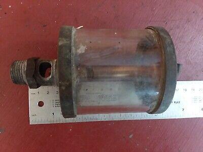 Essex Brass Corp Oiler Machine Hit Miss Gas Engine Vintage Steam Engine Large