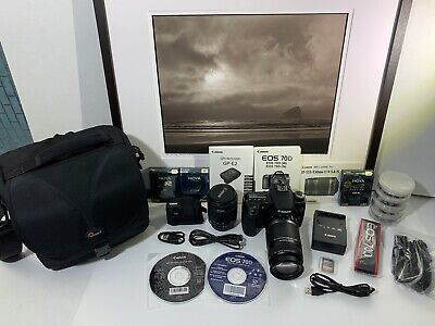 Canon EOS 70D Digital Camera W/Accessories