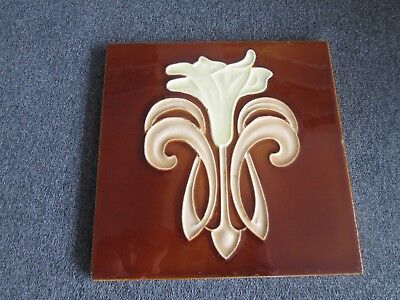 VINTAGE DECORATIVE TILE BELGIUM