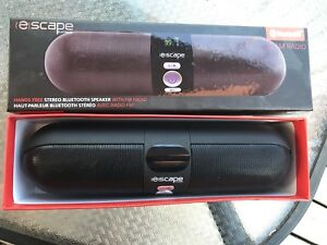 Bluetooth speaker with fm. Must go