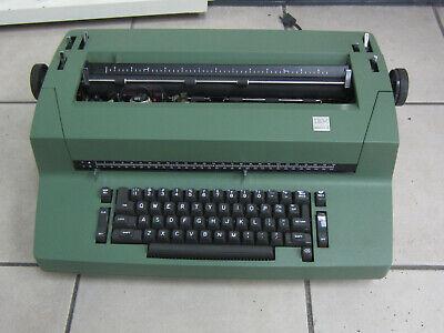 Vintage Ibm Correcting Selectric Ii Typewriter Dark Olive Green