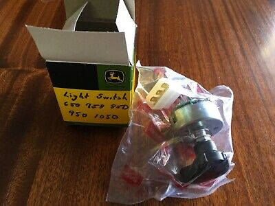 John Deere 650 750 850 950 1050 Tractor Light Switch