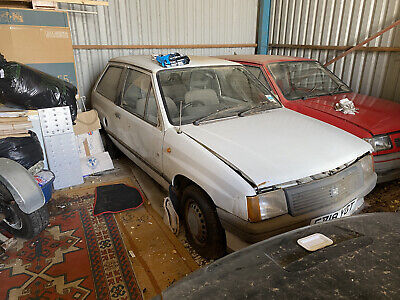 Vauxhall Nova Barn Find White 998cc