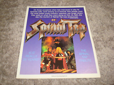 SPINAL TAP 1992 article with Michael McKean, Christopher Guest, Harry Shearer