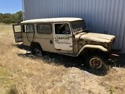 1981 HJ47 Toyota LandCruiser Troop Carrier Lucindale Naracoorte Area Preview