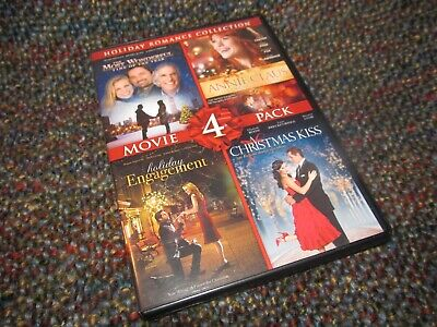 """Holiday Romance Collection"" 4 Movie Pack! VG CONDITION!"