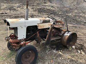 1961 Case tractor with loader
