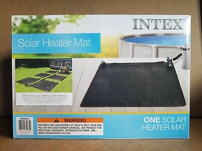 Intex 28685E Above Ground Swimming Pool Water Heater Solar Mat - Black