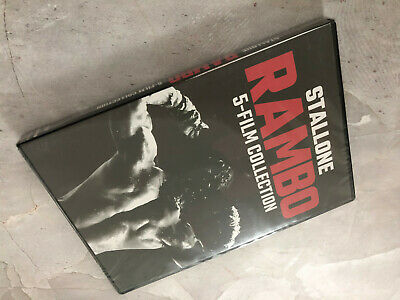 Rambo 5-Film Collection Series 1-5 DVD Digital Brand New US...