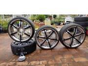 x4 Diablo Wheels - 245/30ZR22 96 W XL Liverpool Liverpool Area Preview