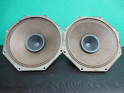 "2x Philips AD3801 MD/01  speakers 8"" Breitband Lautsprecher  full range."