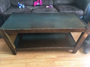 Coffee table and end tables set