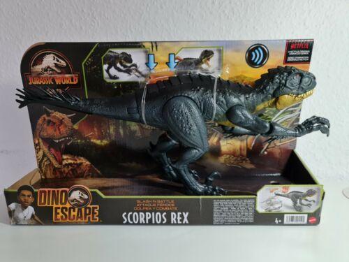 Jurassic World Scorpios Rex - Dino Escape - Mit Sound - Mattel Neu & OVP